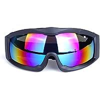 スキーゴーグル スノボートゴーグル UV400 紫外線カット 防風 防放射 サングラス 登山/サバゲー/バイク/スキー運動に全面適用