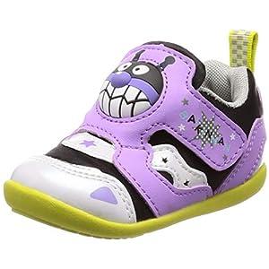 [アンパンマン] ベビーシューズ 通園 運動会 靴 ゆったり APM B25 パープル 12 cm 2E