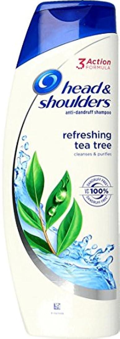 母性お別れ寛大なHead & Shoulders Tea Tree Anti-Dandruff Shampoo 250ml ふけ防止シャンプー ティーツリー