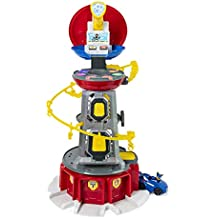 PAW Patrol My Size Lookout Tower with Exclusive Vehicle, Rotating Periscope & Lights & Sounds (Renewed)