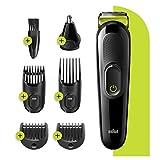 Braun Multi Grooming Kit MGK 3221, Beard Trimmer, Hair Cut Clipper for and Ear Nose Beard Attachment