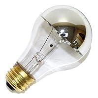 ( 6パック) Satco s3956100ワット960ルーメンa19白熱ソフトホワイト2700K電球、シルバークラウン