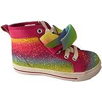 Jojo Siwa Girls Shoes Sneakers High Top MANY STYLES Glitter Rainbow Tye Dye