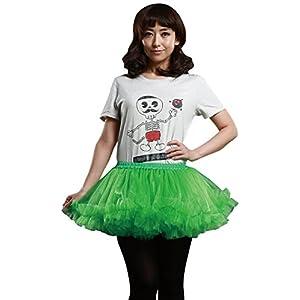 【エレクトリック EX】 光る パニエ コスチューム用小物 緑 レディース 155cm-165cm