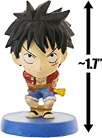 "ルフィ: ~ 1.7 "" Anichara Heroes X One Piece – Fishman Island円弧mini-figureシリーズ( Japanese Import )"