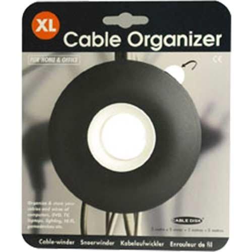 【正規輸入品】 Cleverline ケーブルオーガナイザー Cable Organizer XL ブラック 790802