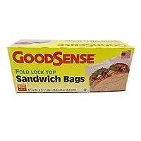 Good SenseサンドイッチバッグFoldロックトップ150perボックス