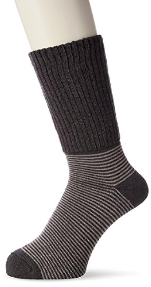 紀元前割合人気の[Mizuno] ライフスタイルウェア ブレスサーモ ゆるぬく ゴム無し靴下 C2JX7601 メンズ