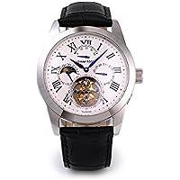 フライングトゥ-ルビヨン JOHNNYROGER メンズ パワーリザーブ 手巻き 腕時計  Roi Blue