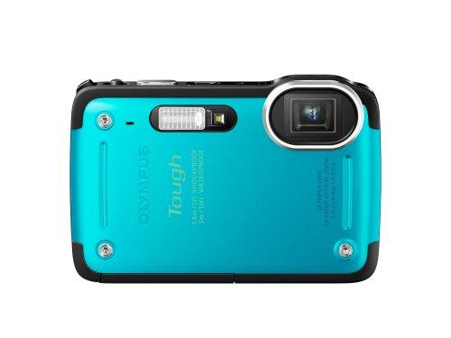 OLYMPUS デジタルカメラ STYLUS TG-625 ブルー 1200万画素 裏面照射型CMOS 防水5m 耐落下衝撃1.5m 耐低温-10℃のタフ性能 光学5倍ズーム iHSテクノロジー 3.0型LCD 広角28mm TG-625 BLU