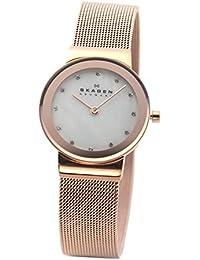 [スカーゲン] SKAGEN 腕時計 basic steel ladys 358SRRD ピンクゴールド レディース [並行輸入品]