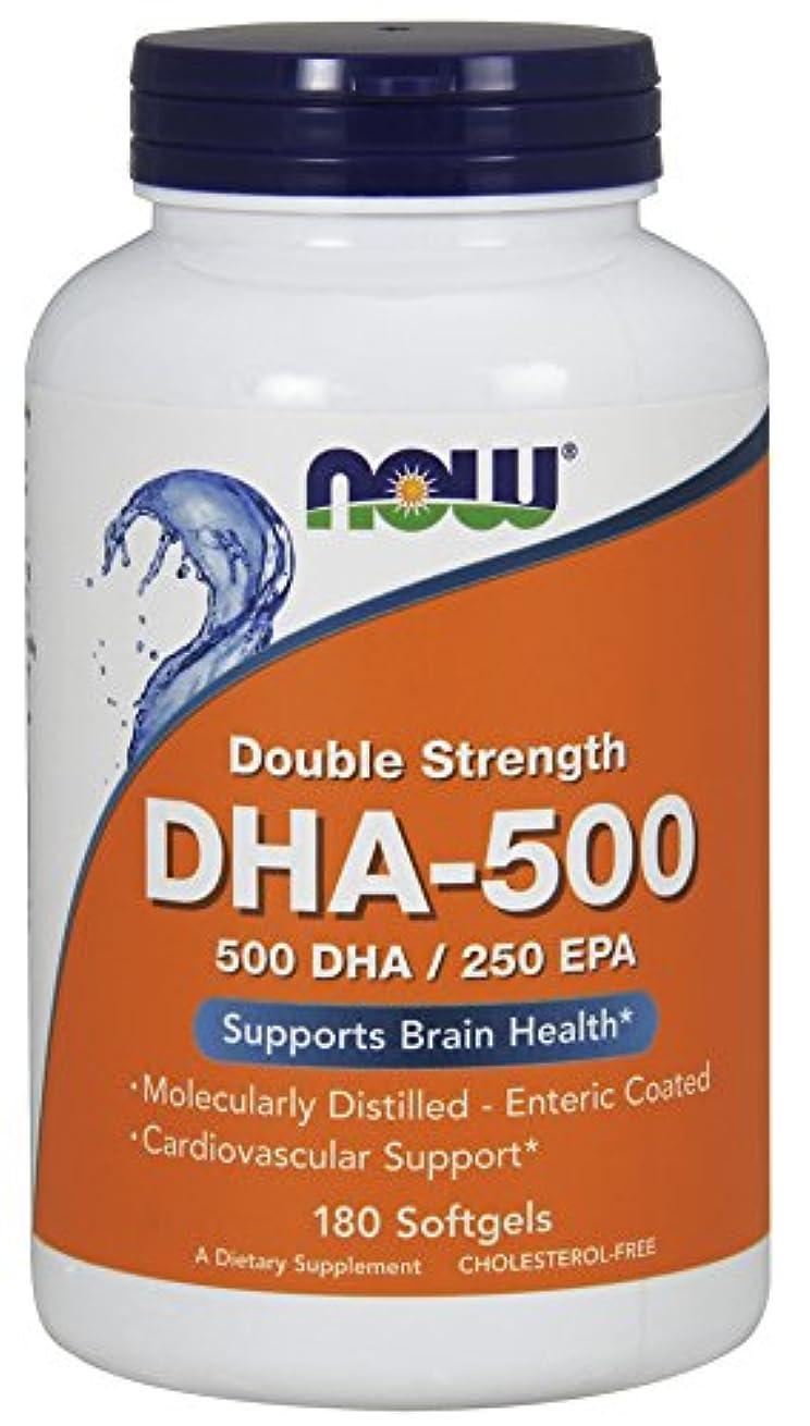 松継続中顕現[海外直送品] ナウフーズ   DHA 180 Softgels 500 Mg