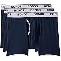 Bonds Men's Microfibre Guyfront Mid Trunk, Captain McCool