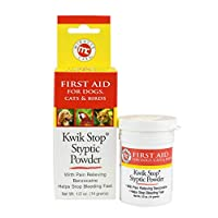 Miracle Care Kwik Stop Styptic Powder, 0.5 Oz by Miracle Care