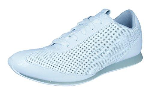 Puma Danica Womens Leather Sneakers Ses -White-22.5