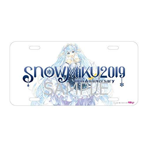 初音ミク ナンバープレート (SNOW MIKU 2019ver.)