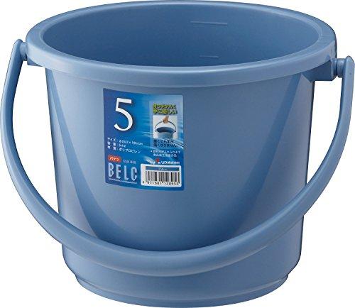 ベルク バケツ 5SB 本体 ブルー 5.4L