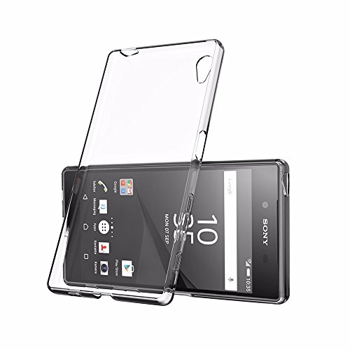 EasyAcc Sony Xperia Z5 Premium TPUケース ソフトカバー 透明 クリア 高品質 5.5インチ専用