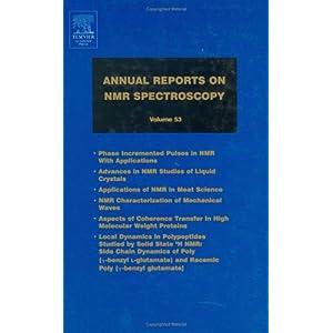 Annual Reports on NMR Spectroscopy, Volume 53