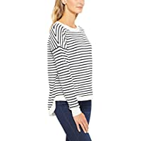 French Connection Women's Stripe Varsity Knit, Multicolored (