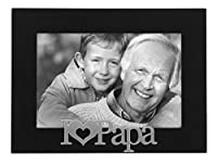 Malden I Love Papa Expressions Frame, 4 by 6-Inch [並行輸入品]