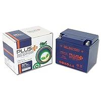プラスバッテリー PB7C-X シールド式 ジェルタイプ バイク用 7C-A (互換:YB7C-A/GM7CZ-3D) 7C-X