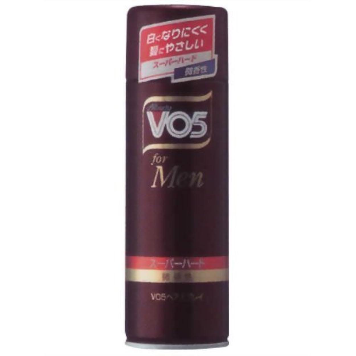 マークされた恐怖症虚栄心VO5 for MEN ヘアスプレイ スーパーハード微香性 260g