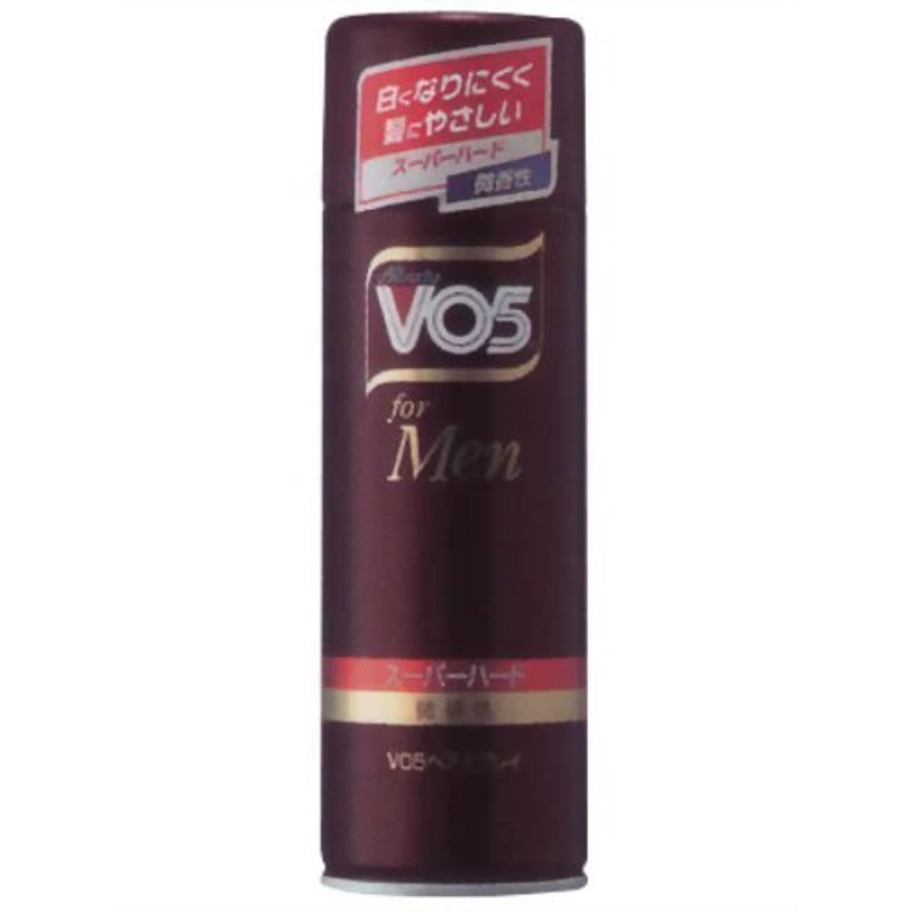 インレイ加速度クリップ蝶VO5 for MEN ヘアスプレイ スーパーハード微香性 260g