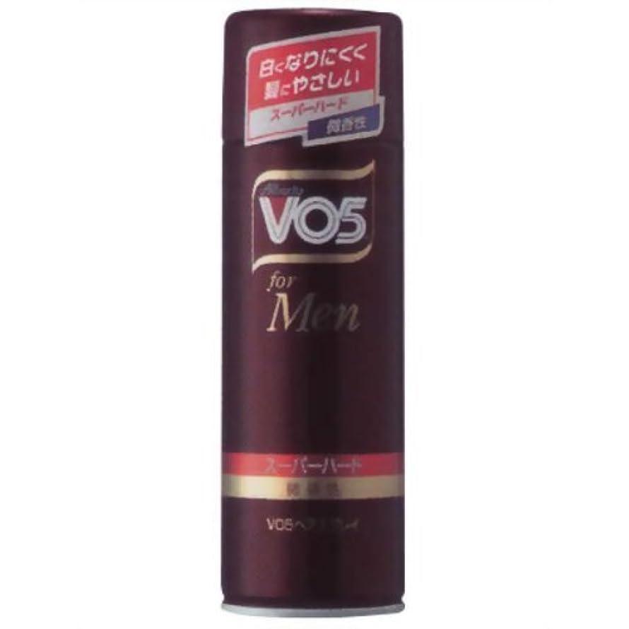 正規化移動売上高VO5 for MEN ヘアスプレイ スーパーハード微香性 260g