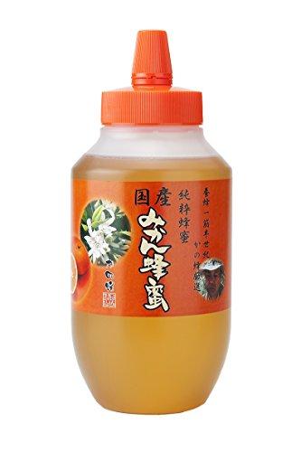 はちみつ 専門店 国産 みかん 蜂蜜 1000g(1kg) 完熟 の 純粋 蜂蜜 (とんがり容器)
