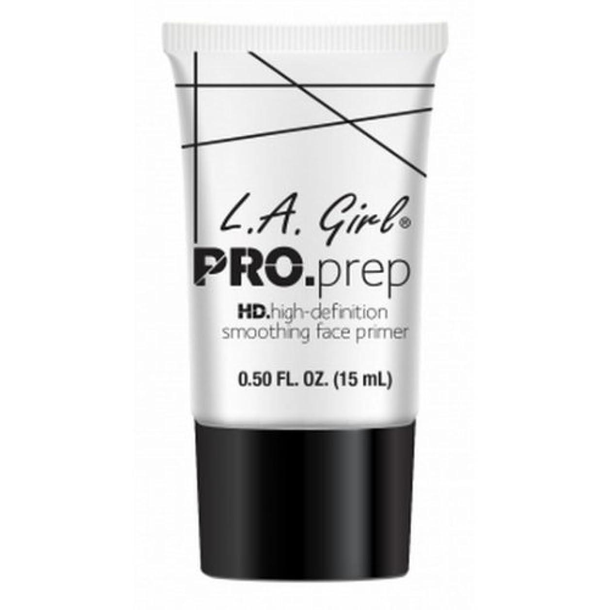 オーバーコート正しく方向L.A. GIRL Pro Smoothing Face Primer - Cream (並行輸入品)