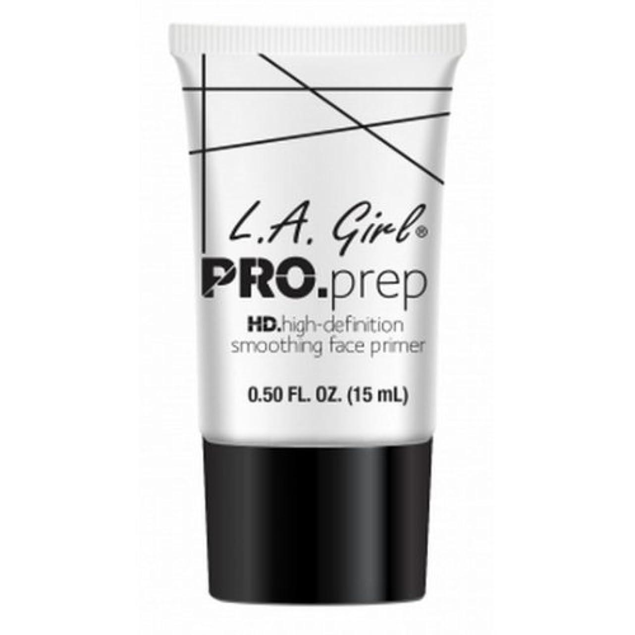 写真撮影シャワー熟達したL.A. GIRL Pro Smoothing Face Primer - Cream (並行輸入品)