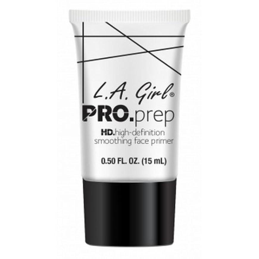 揺れる雹下位(3 Pack) L.A. GIRL Pro Smoothing Face Primer - Cream (並行輸入品)