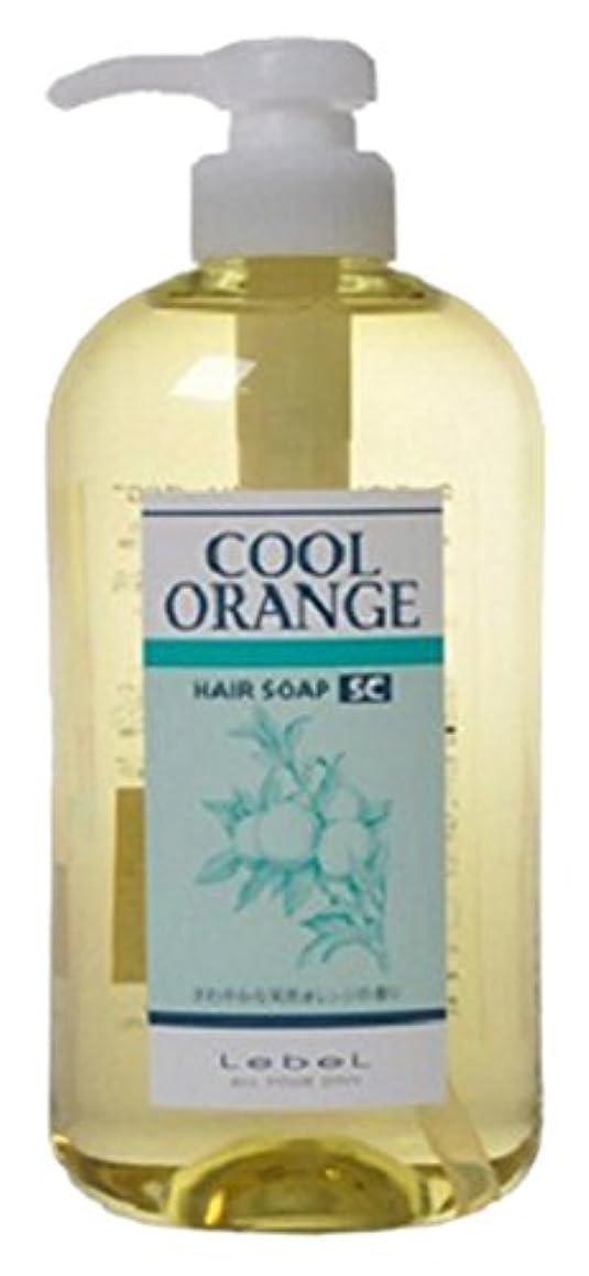 平均終わったアセルベル クールオレンジヘアソープ SC 600ml