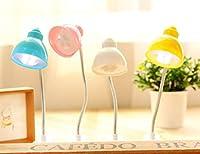 LEDデスクランプ調光機能付きポータブル軽量作業勉強読書ベッドサイドライト Genuiskids