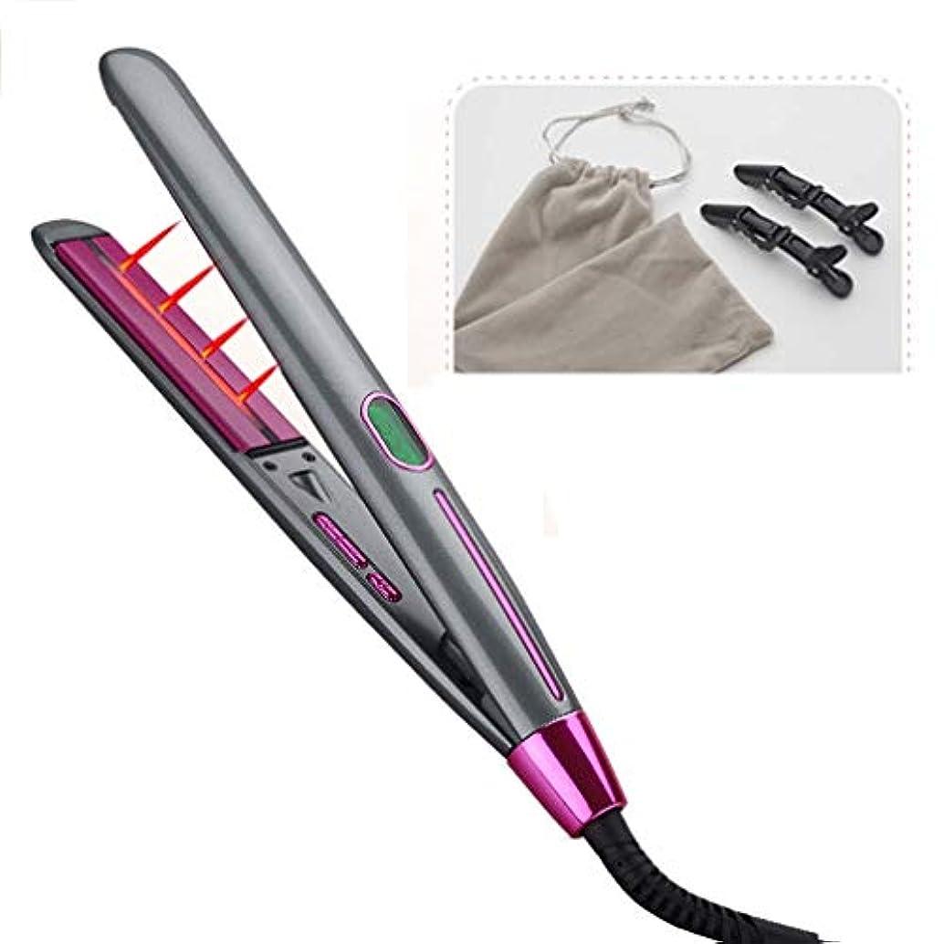 コイン稚魚換気マイナスイオンストレートヘア、ストレートヘアデュアルユースカーリングアイロン、赤外線毛矯正スプリント