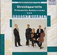String Quartets 1, 3 & ,4