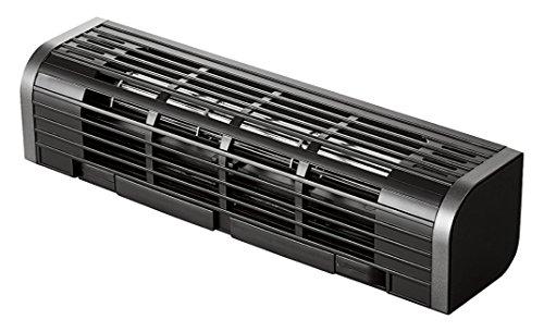 エレコム USB扇風機 縦置き/横置き/ PC&タブレット冷却台 3段階風量調整 ブラック FAN-U177BK