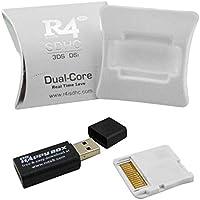 Liebeye メモリアダプタカード 2018 アップグレード R4 SDHC マイクロSD メモリアダプタカード F DS 3DS 2Ds Ndsi Ndsl Nds HS ホワイト