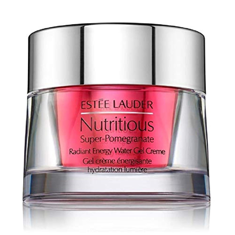 信頼できる腫瘍行うエスティローダー Nutritious Super-Pomegranate Radiant Energy Water Gel Creme 50ml/1.7oz並行輸入品
