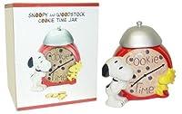 Peanuts Snoopy Cookie Time Cookie Jar
