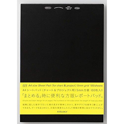 ニトムズ シートパッド STALOGY A4 縦 プロジェクト&チャート用 S4200