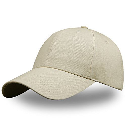 ONE LIMITATION(ワン リミテーション)シンプル カジュアル 無地 キャップ 帽子 デザイン 野球帽 メンズ レディース CP008 (04.カーキ)