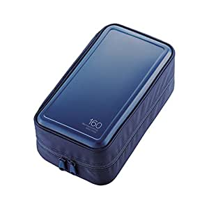 エレコム DVD BD CDケース セミハード 160枚収納 ブルー CCD-HB160BU
