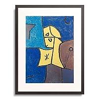 パウル・クレー Paul Klee 「High guard. 1940」 額装アート作品