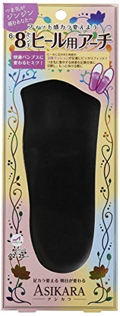 凍結スポンジ玉ねぎASIKARA  6~8cm ヒール用アーチ ブラック