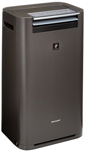 シャープ 加湿 空気清浄機 プラズマクラスター 25000 ハイグレード 16畳 / 空気清浄 31畳 グレー KI-GS70-H