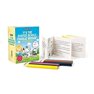 Peanuts: It's the Easter Beagle, Charlie Brown Coloring Kit (Miniature Editions)