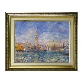 ルノワール Venice, the Doge's Palace F6 油絵直筆仕上げ| 絵画6号 554×463mm ゴールド