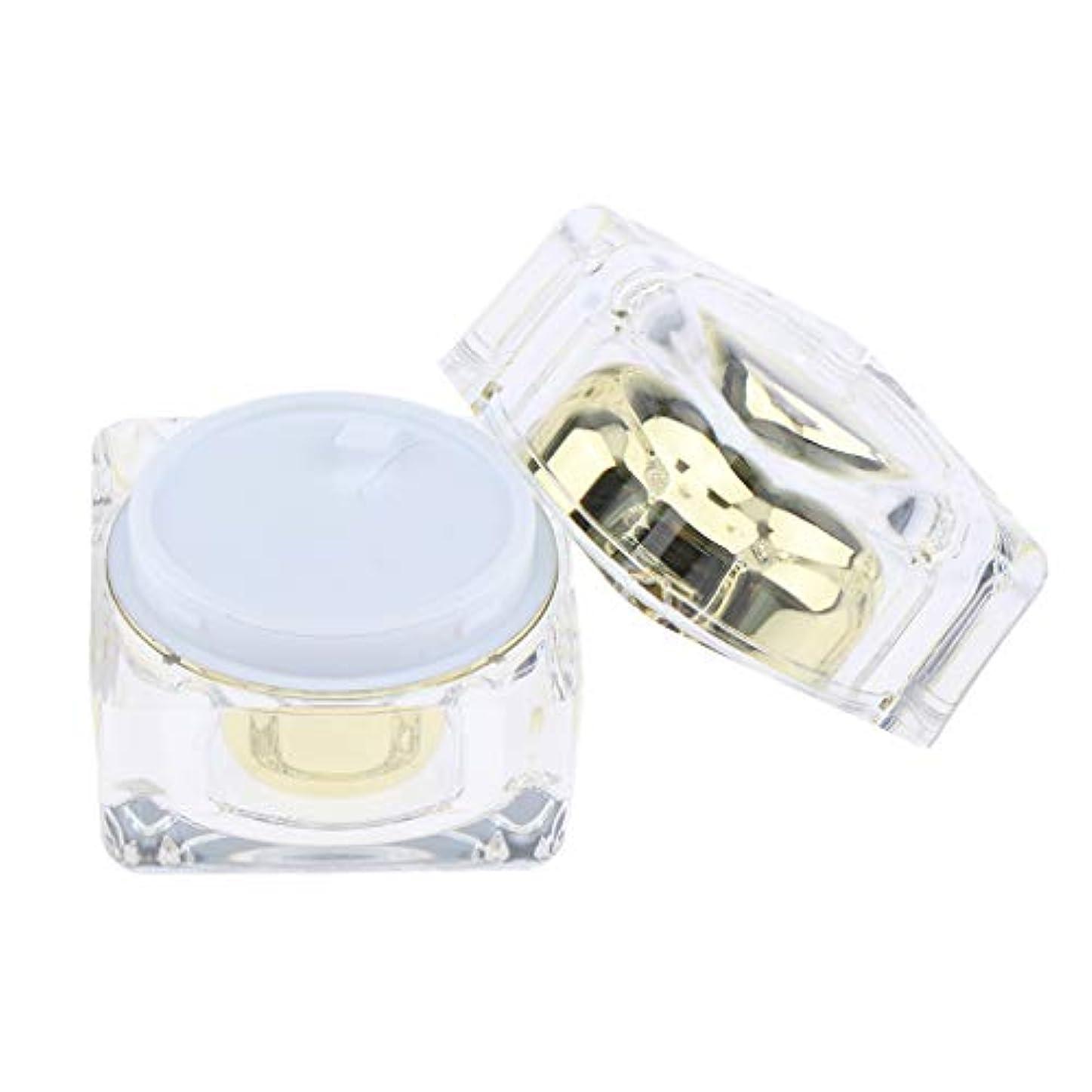 不適効果的統計的化粧品空の瓶ポットクリームリップクリームリップクリーム30g - ゴールデン